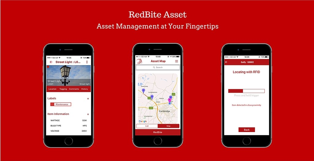 RedBite AssetAsset Management at Your Fingertips